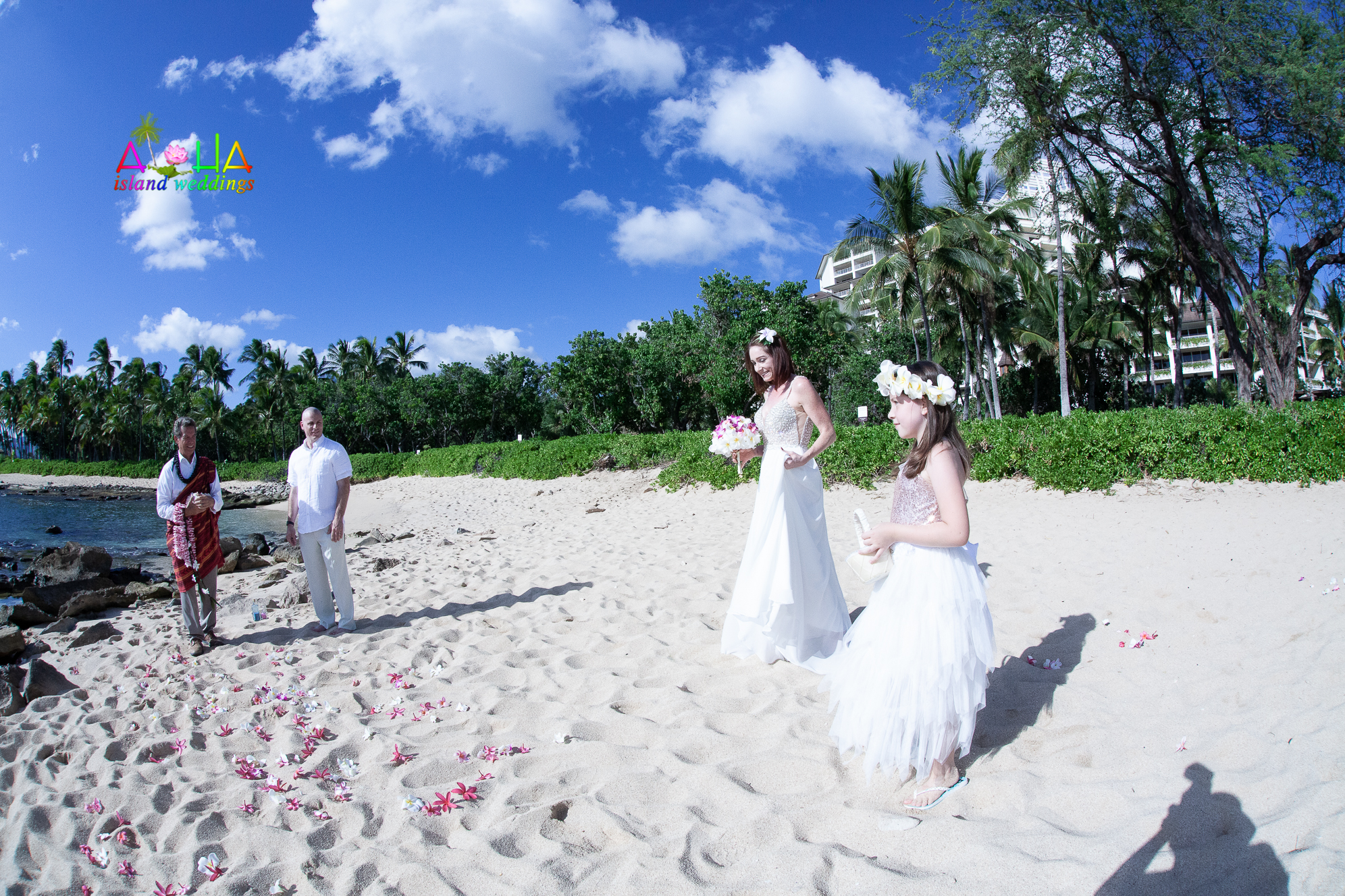 wedding or vow renewal site in the Ko'Olina-11
