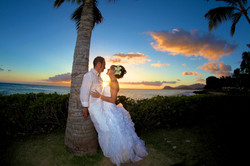Sunset hawaii Wedding Picture -6