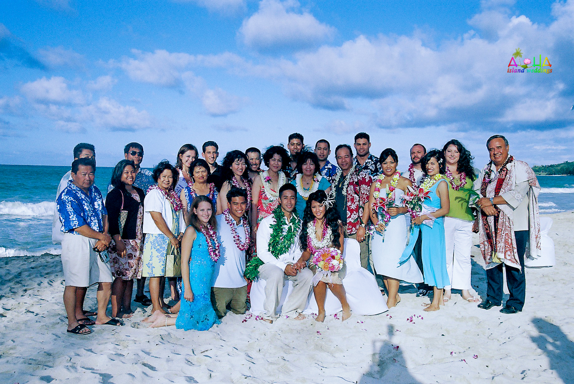 Beach wedding in Kailua-114
