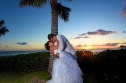 Sunset hawaii Wedding Picture -17