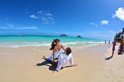 Lanikai beach wedding photos-22