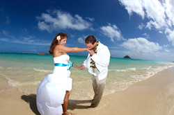 Lanikai beach wedding photos-19
