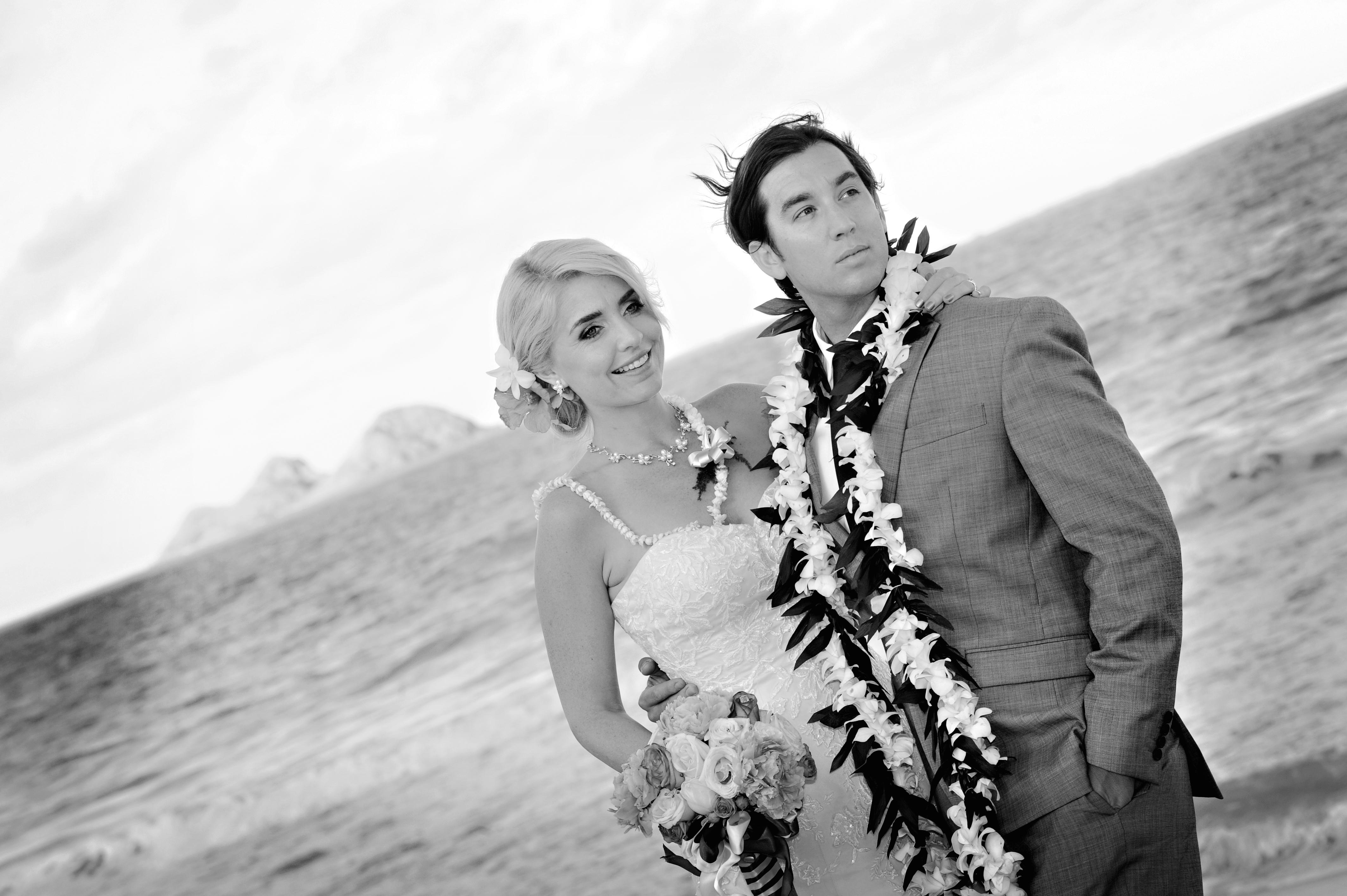 wedding In Hawaii with beautifull bride-7
