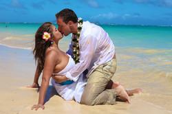 Lanikai beach wedding photos-25