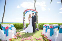 Hawaii wedding paradise cove 8