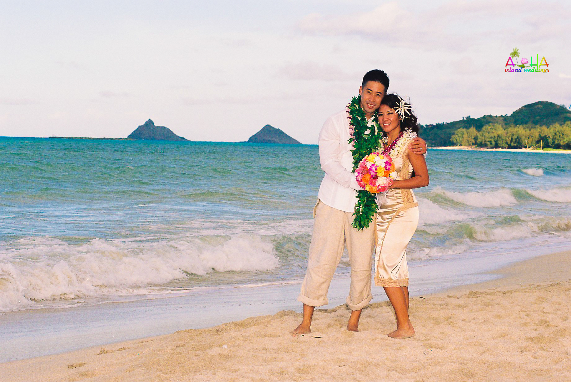 Beach wedding in Kailua-64