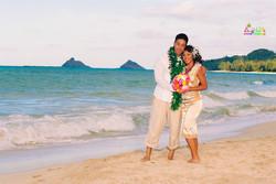Beach wedding in Kailua-64