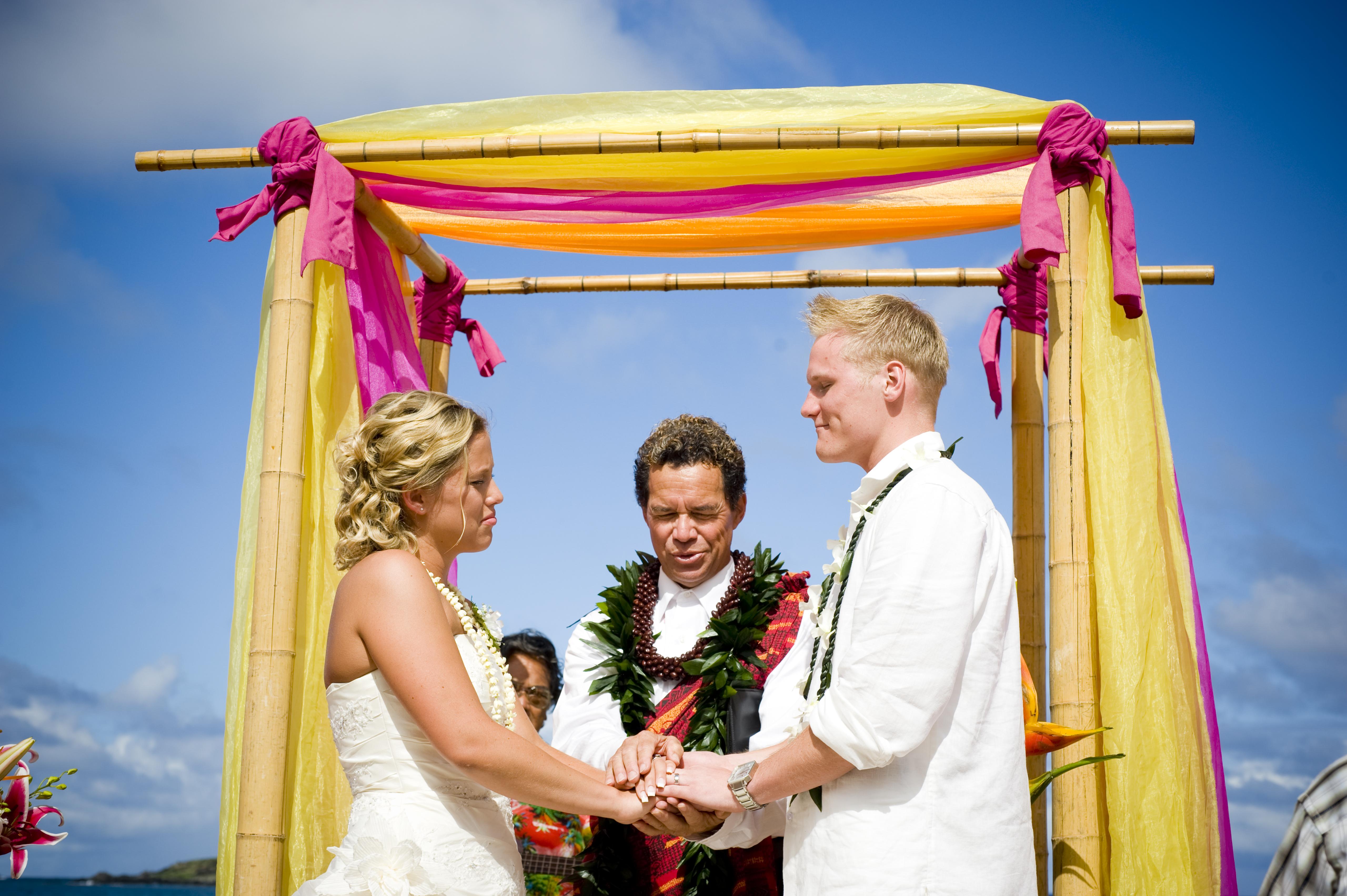 Wedding of Hawaii 5