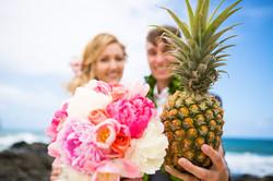 Hawaiian Wedding Pictre Romance -16