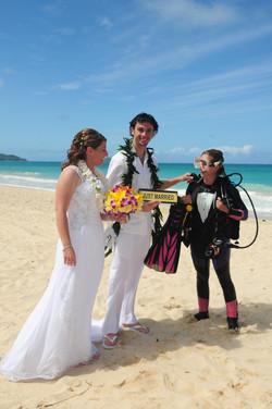 Hawaii Beach wedding photography 5
