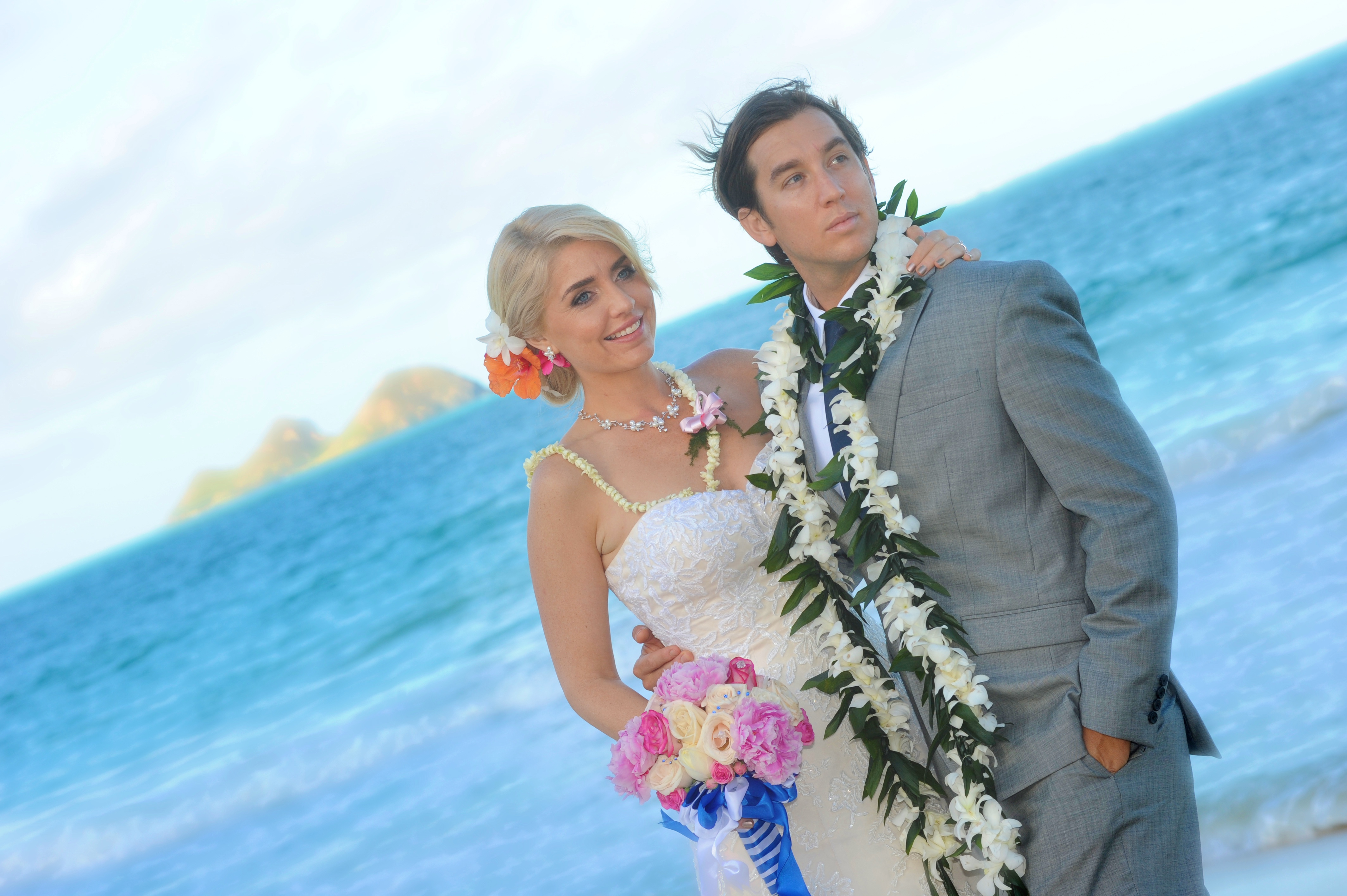 wedding In Hawaii with beautifull bride-8