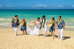 Hawaii beach wedding - lotus car 16