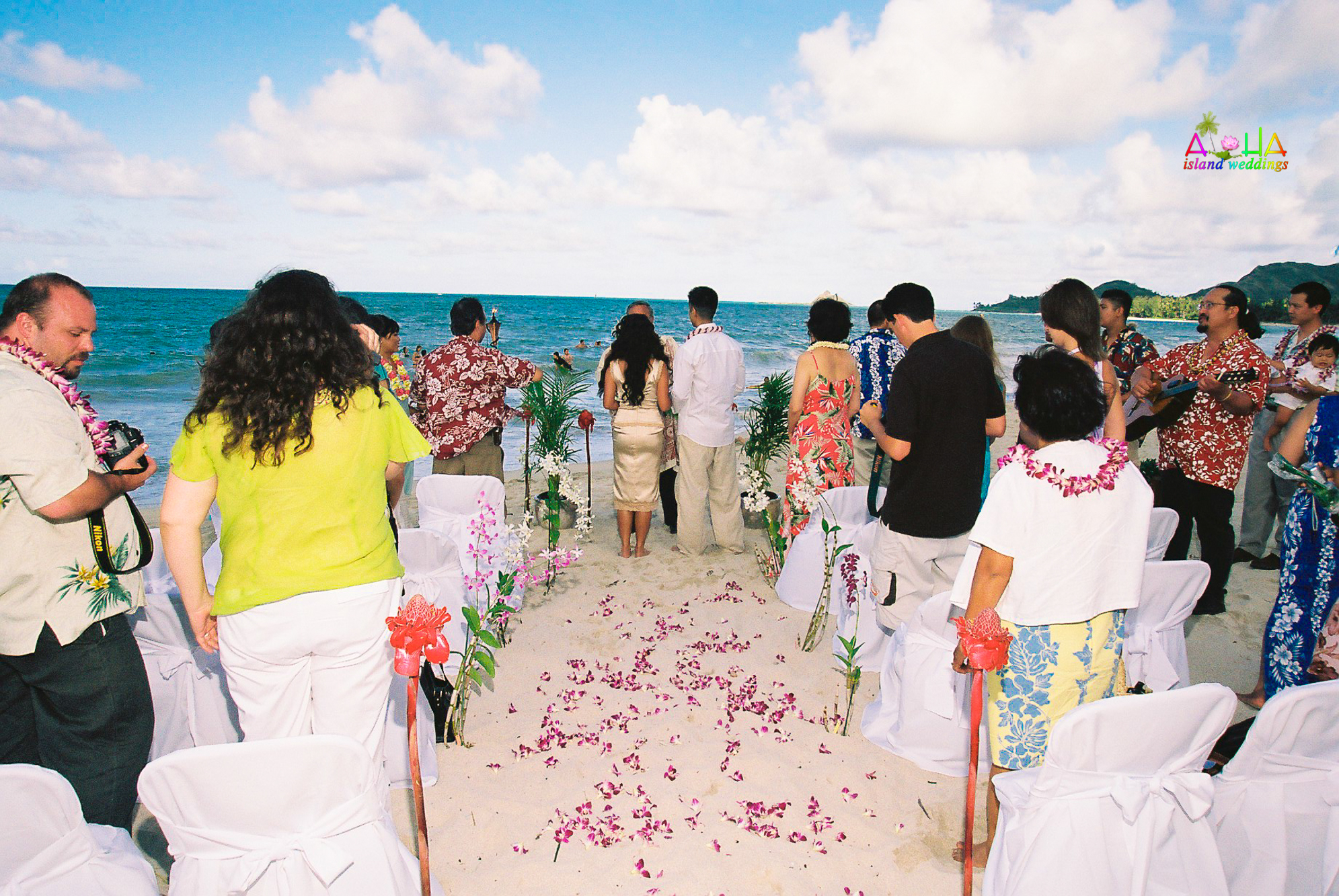 Beach wedding in Kailua-80