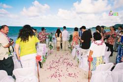 Beach wedding in Kailua-80