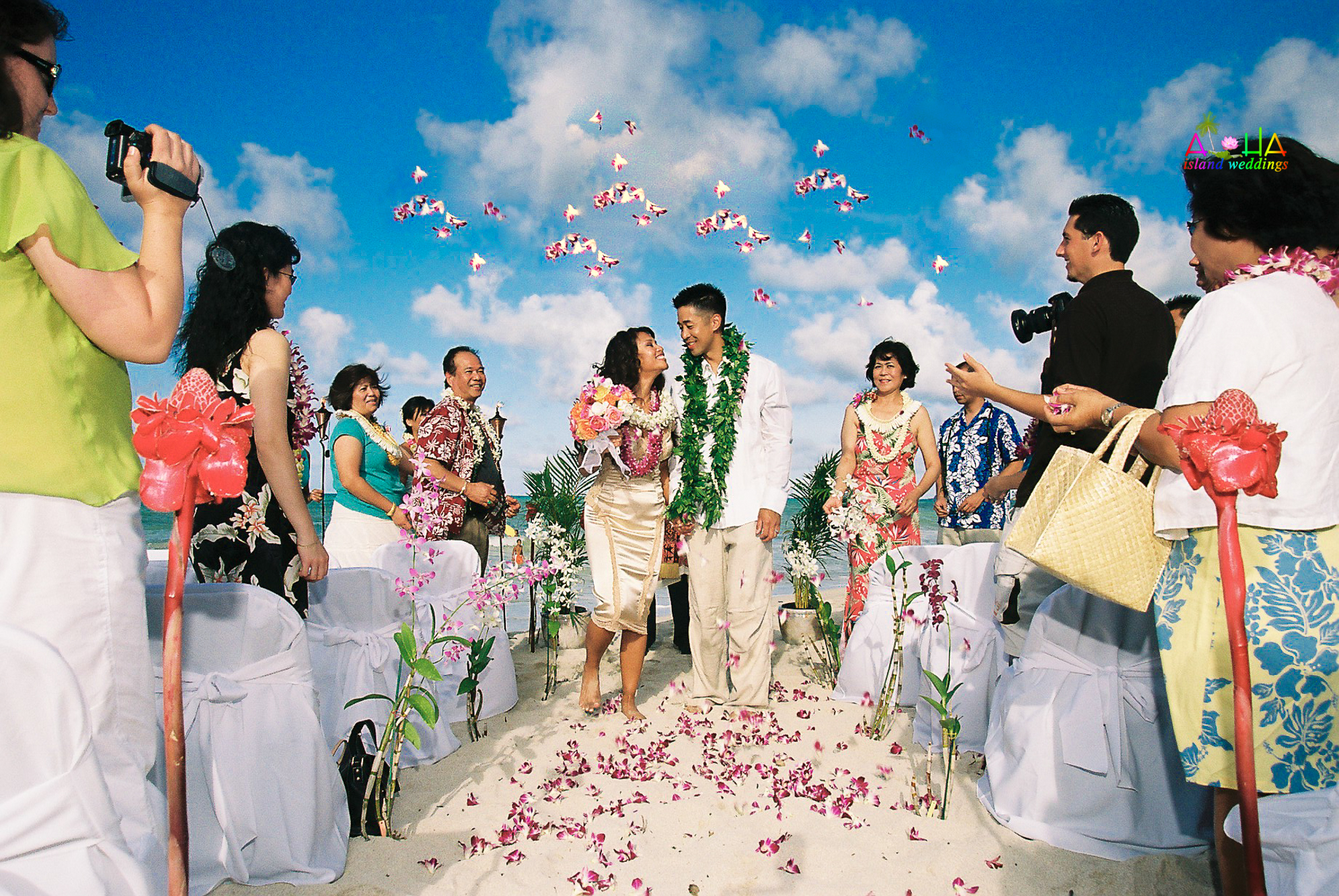 Beach wedding in Kailua-14