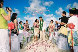 Beach wedding in Kailua-14