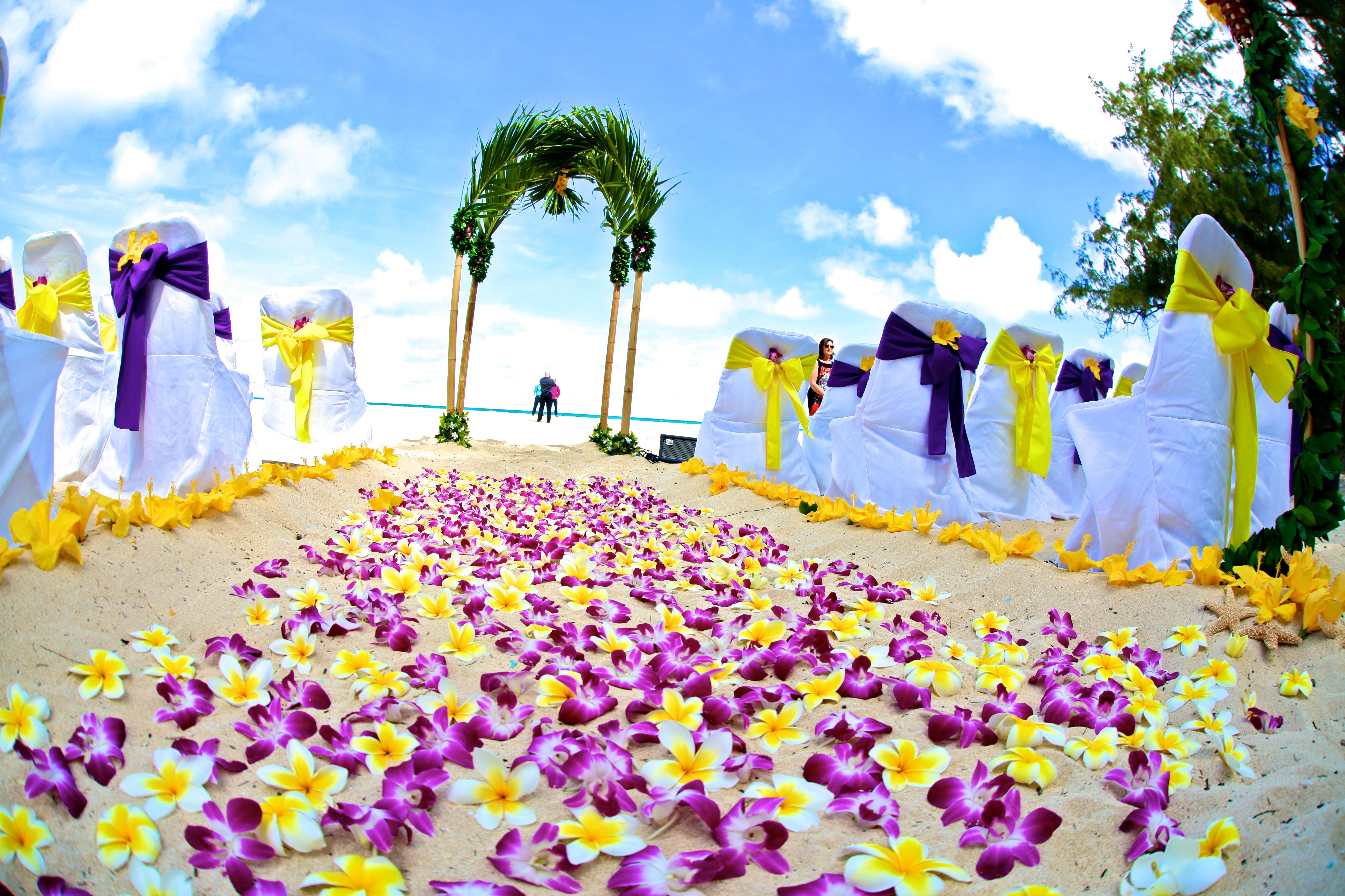 Hawaiian Wedding -0