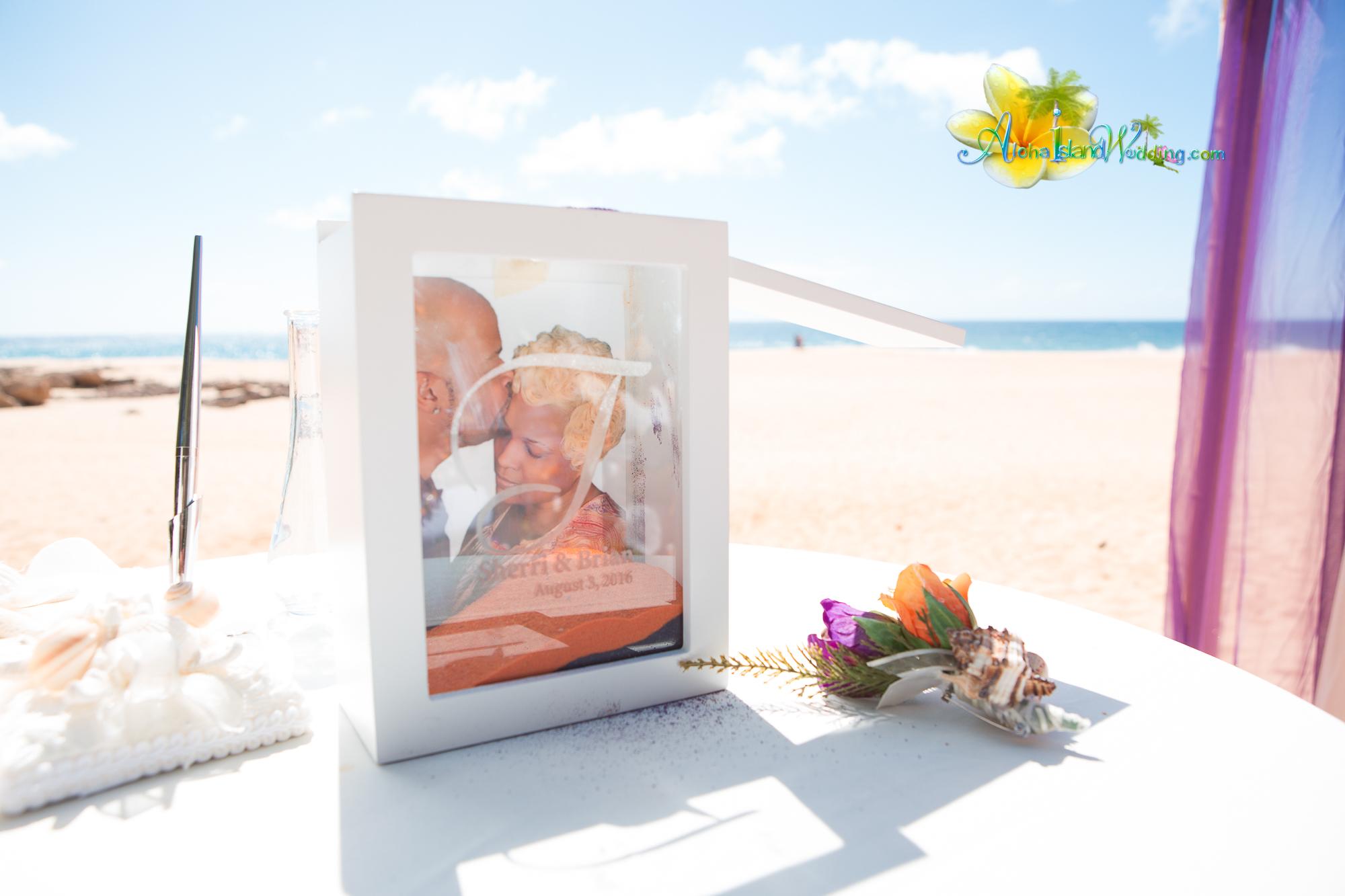 Oahu North shore wedding - 14