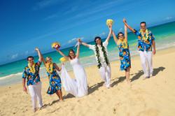 Hawaii beach wedding - lotus car 15