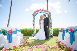 Hawaii wedding paradise cove 5