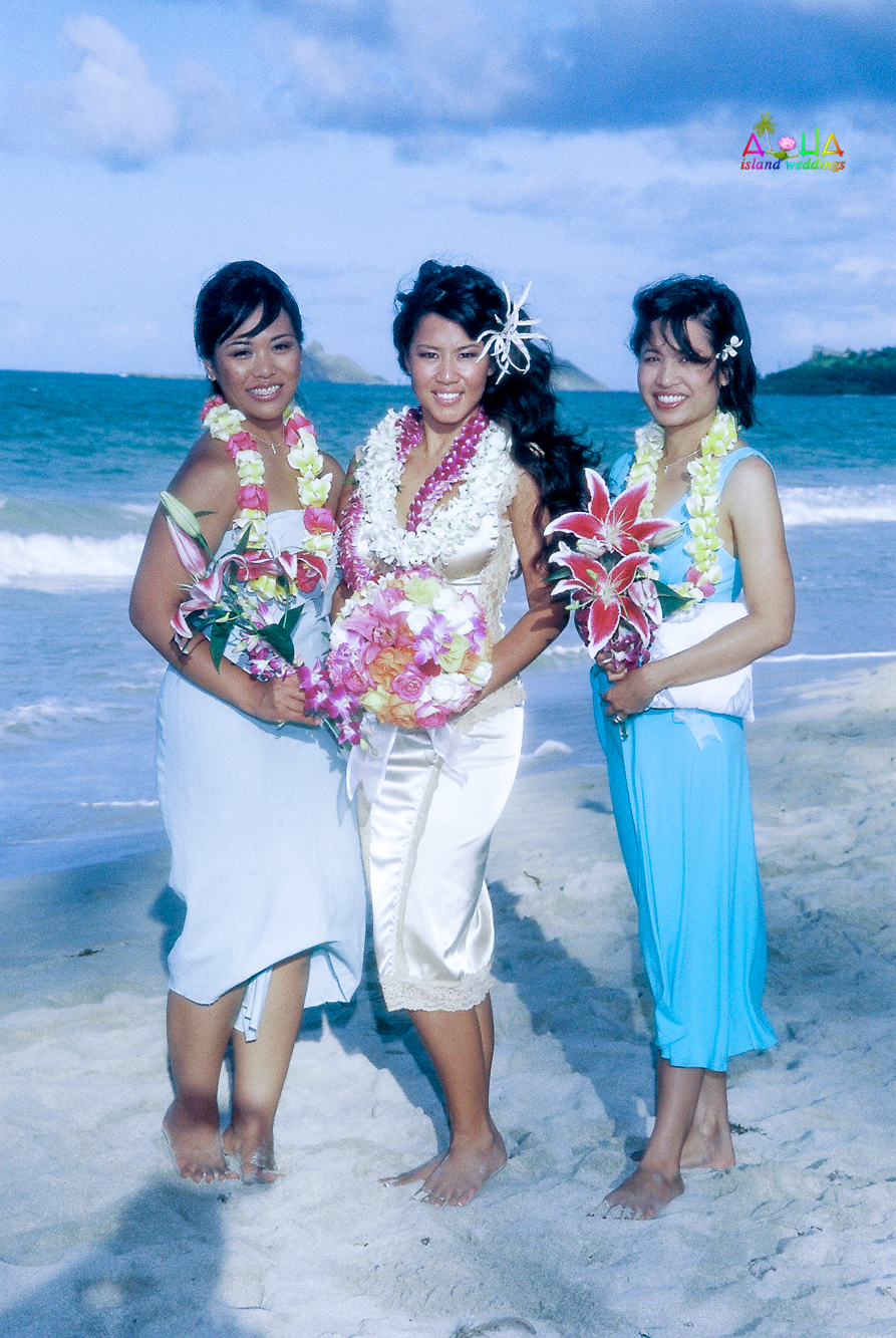 Beach wedding in Kailua-105
