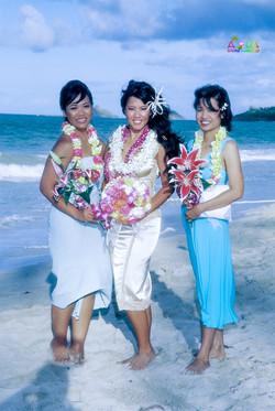 Beach wedding in Kailua-105