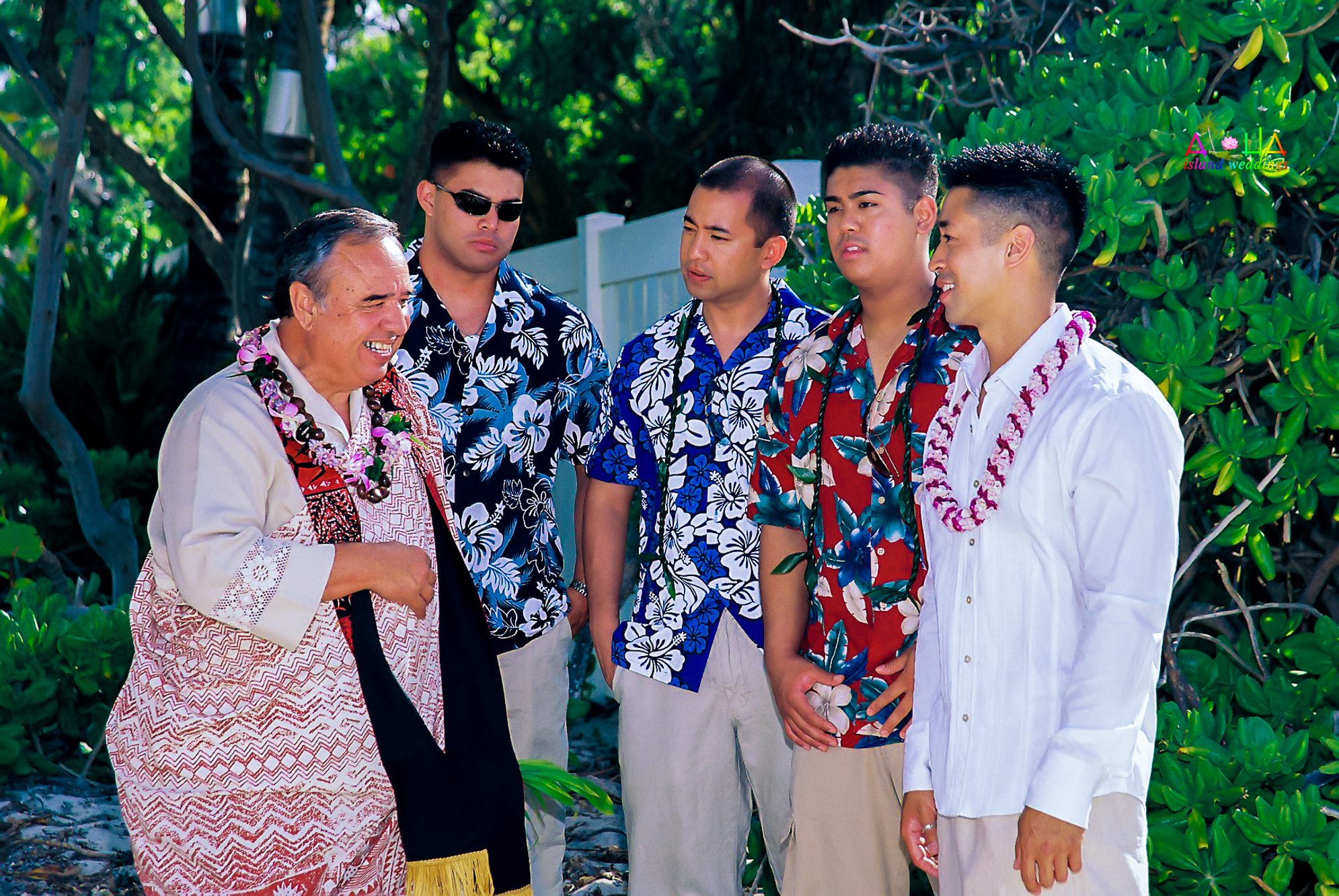 Beach wedding in Kailua-90
