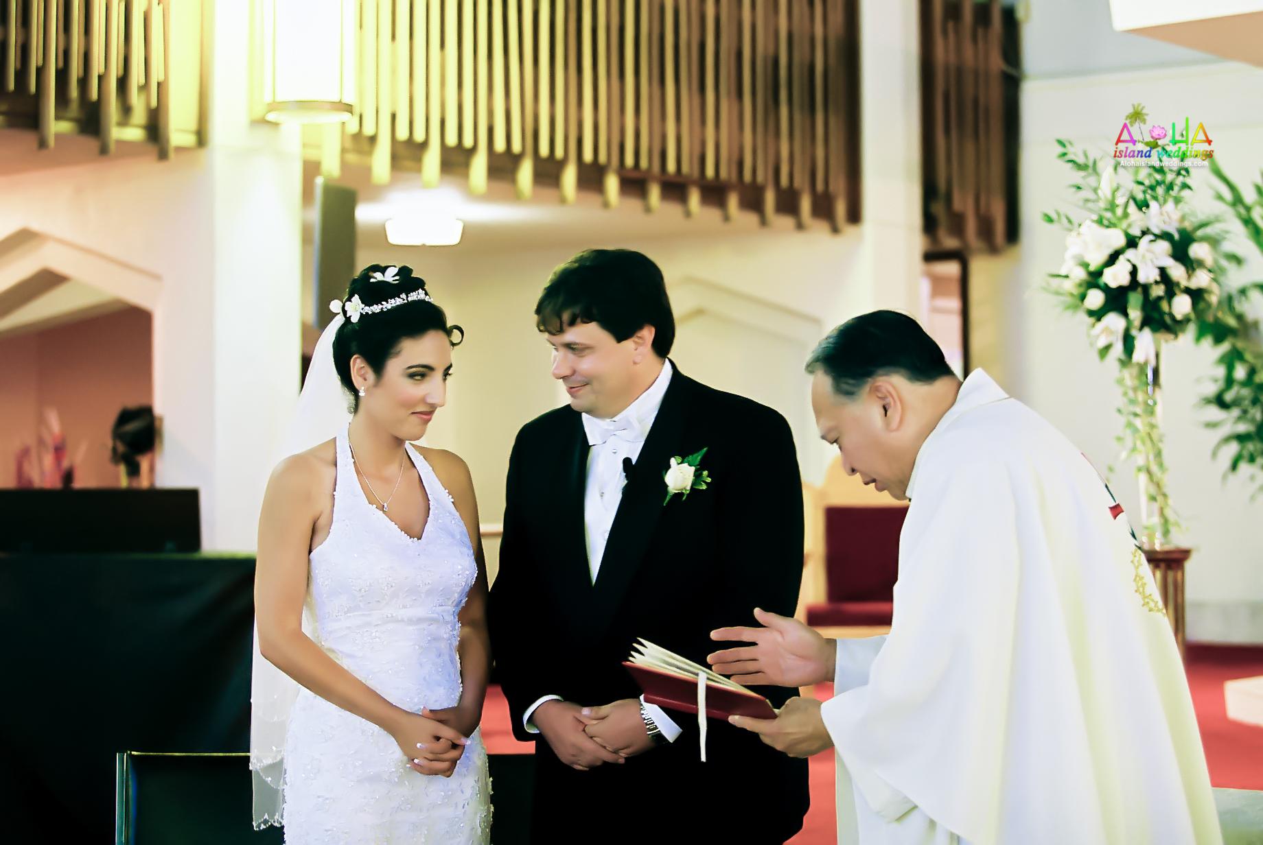 Hawaiian Church Wedding on Oahu-57