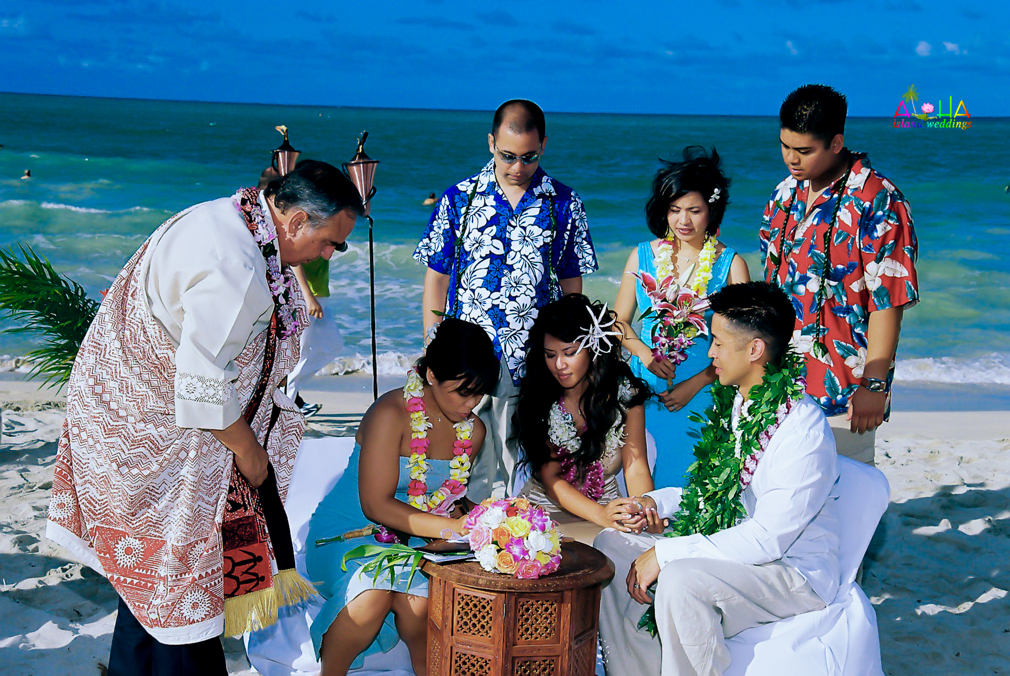 Beach wedding in Kailua-128