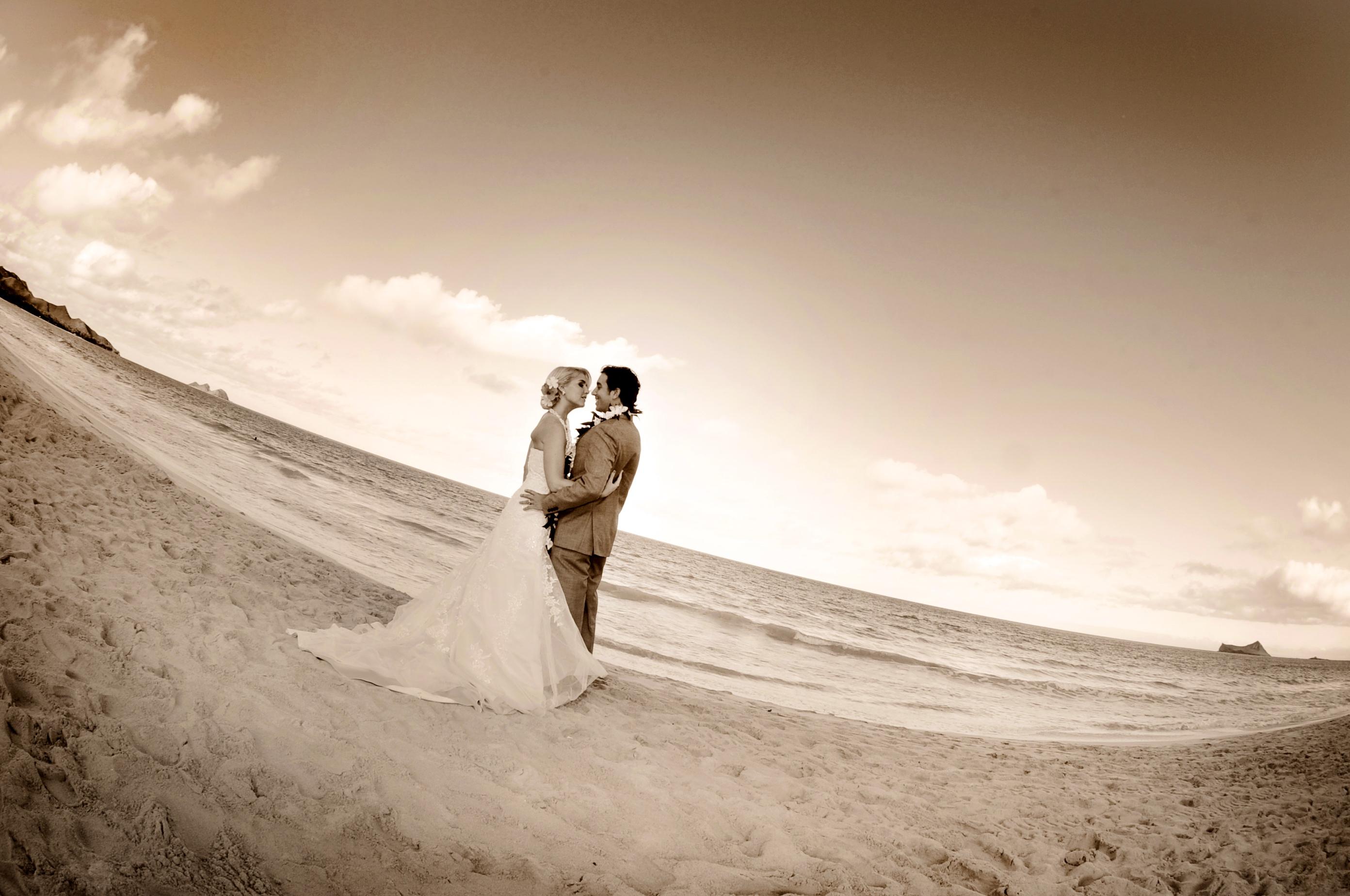 wedding In Hawaii with beautifull bride-1