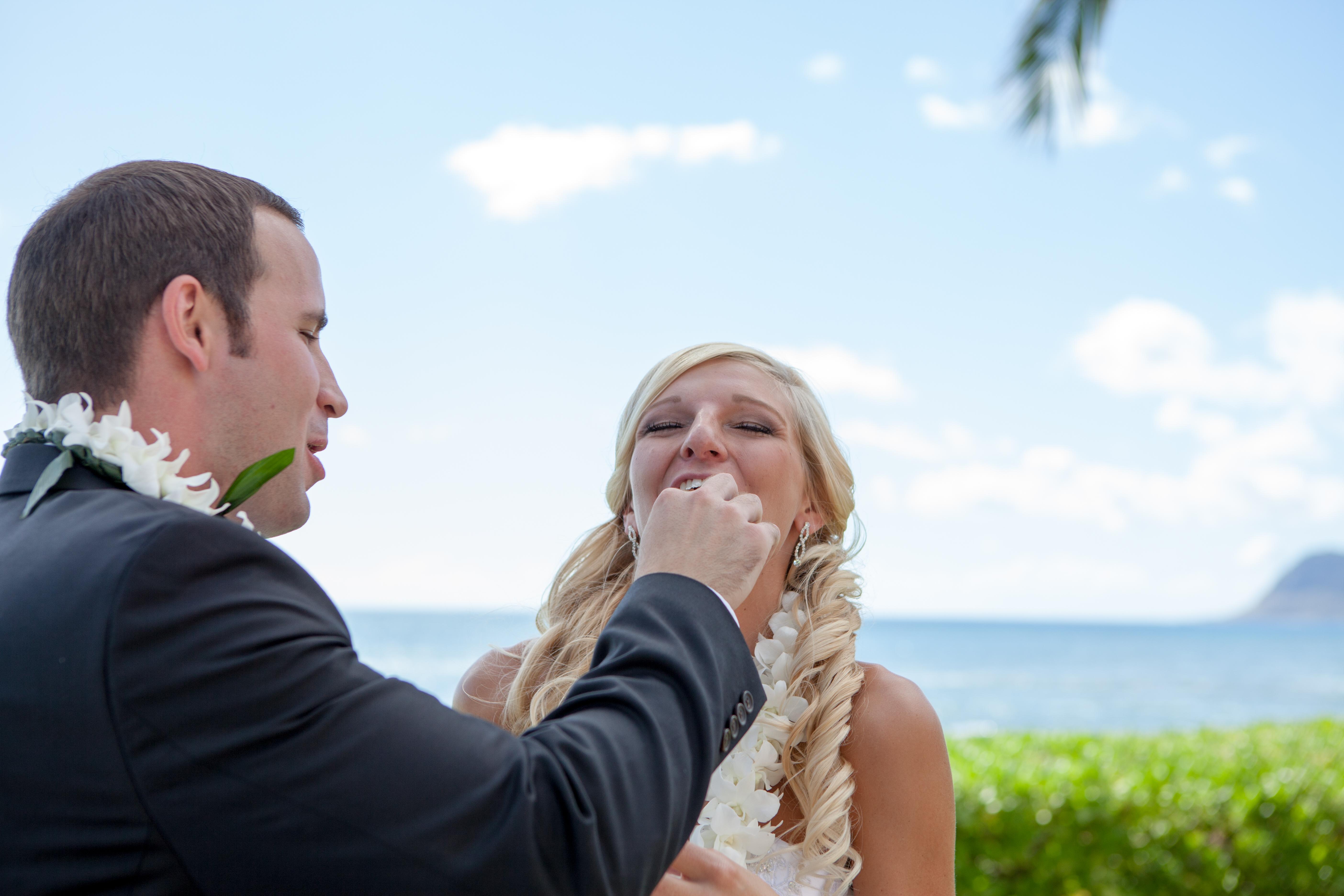 Wedding ceremony at paradise cove 10