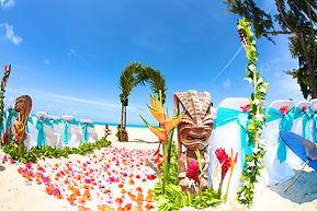 Hawaii wedding setup - weddings of Hawaii