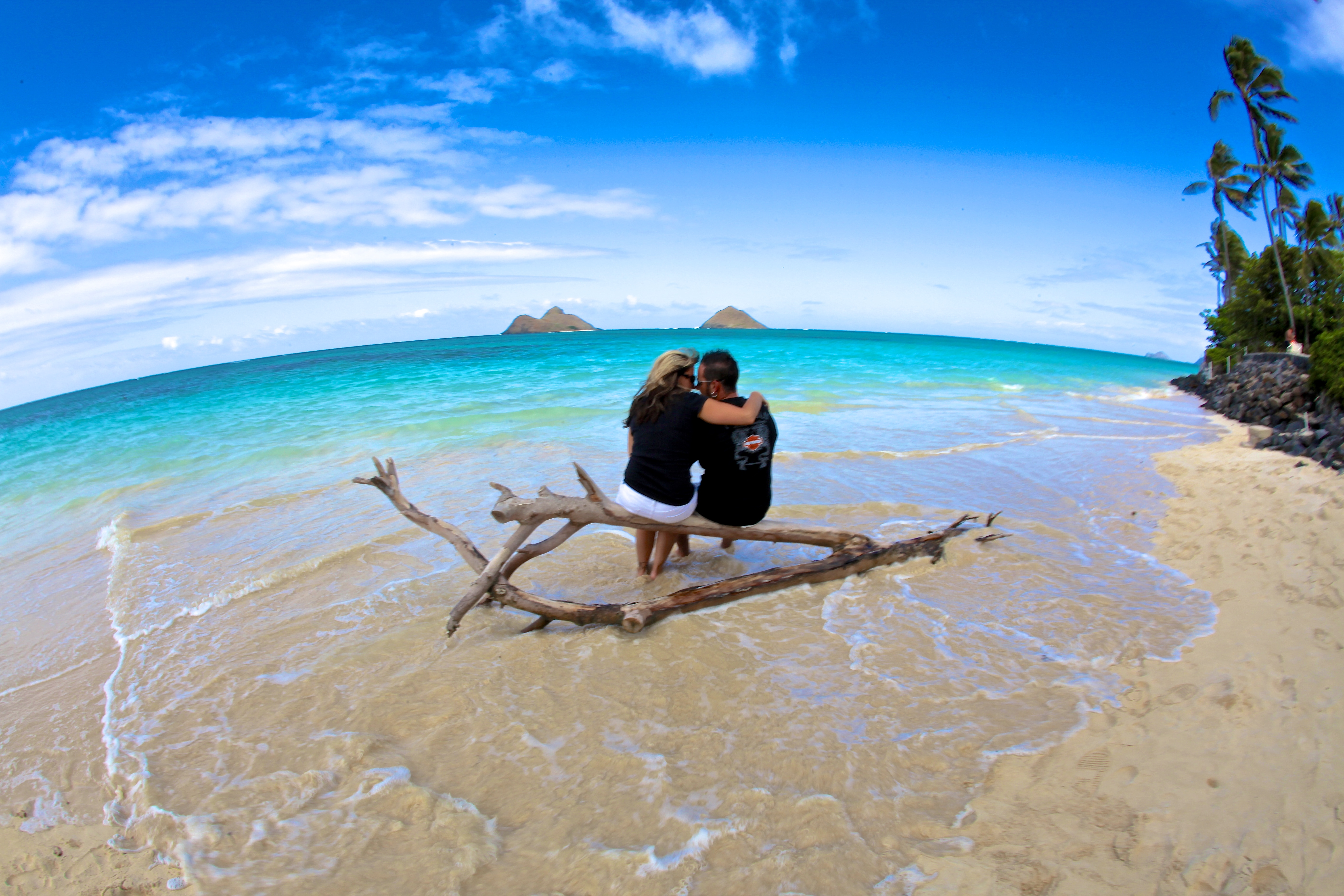 Romantic picture - Lanikai beach