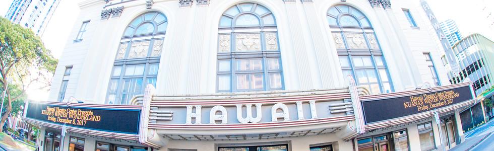 Wedding photographer Oahu-Hawaii theater