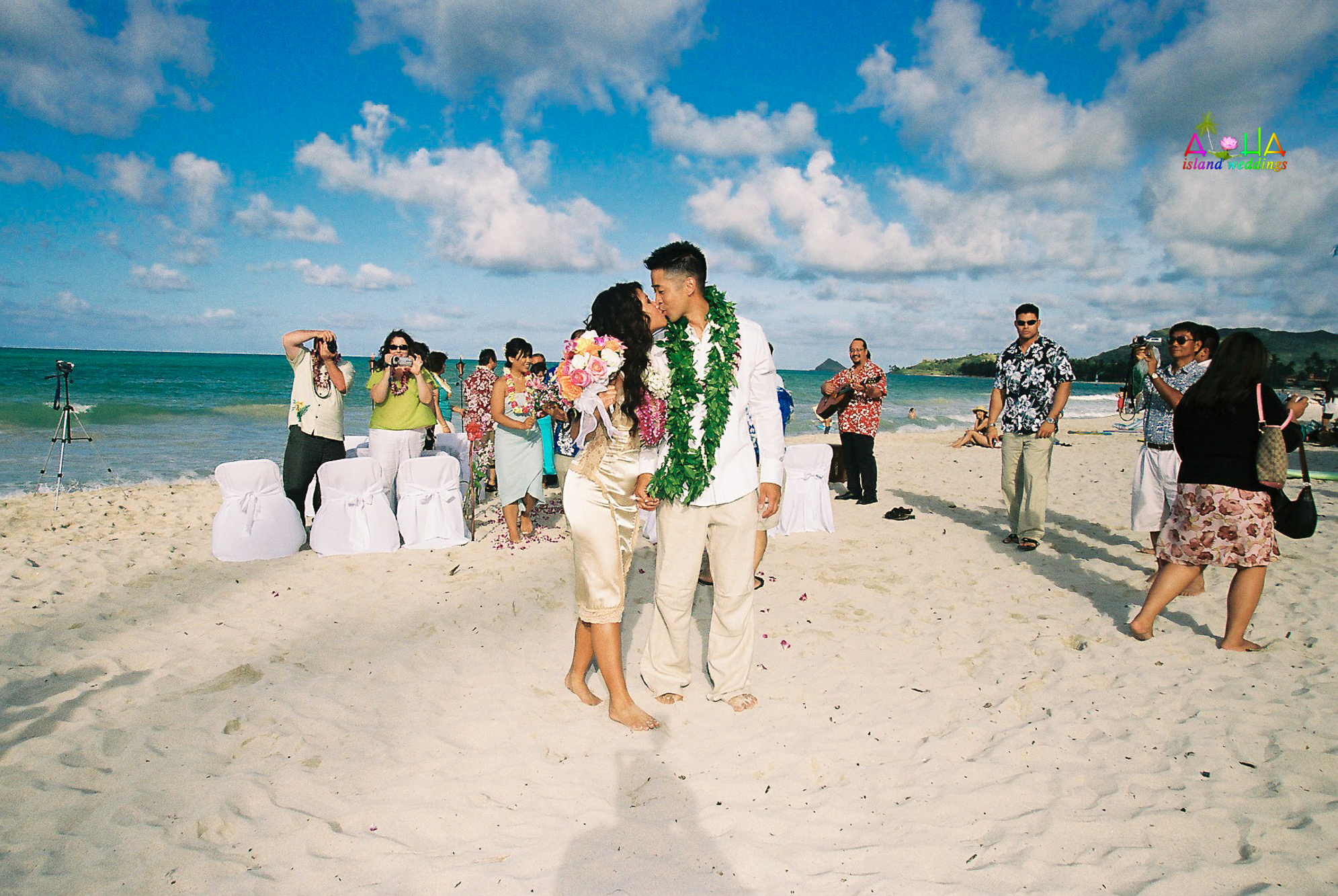 Beach wedding in Kailua-31