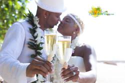 Oahu North shore wedding -11