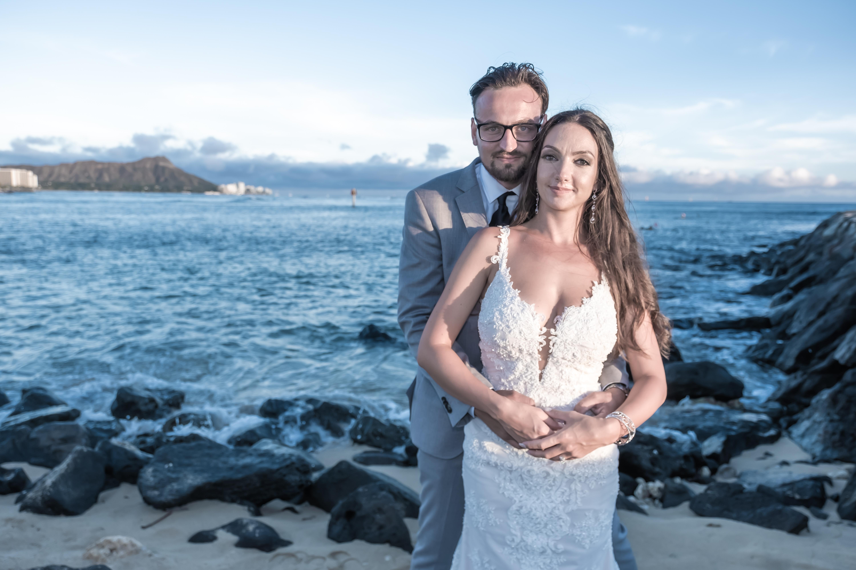 Magic island Hawaii beach wedding -68