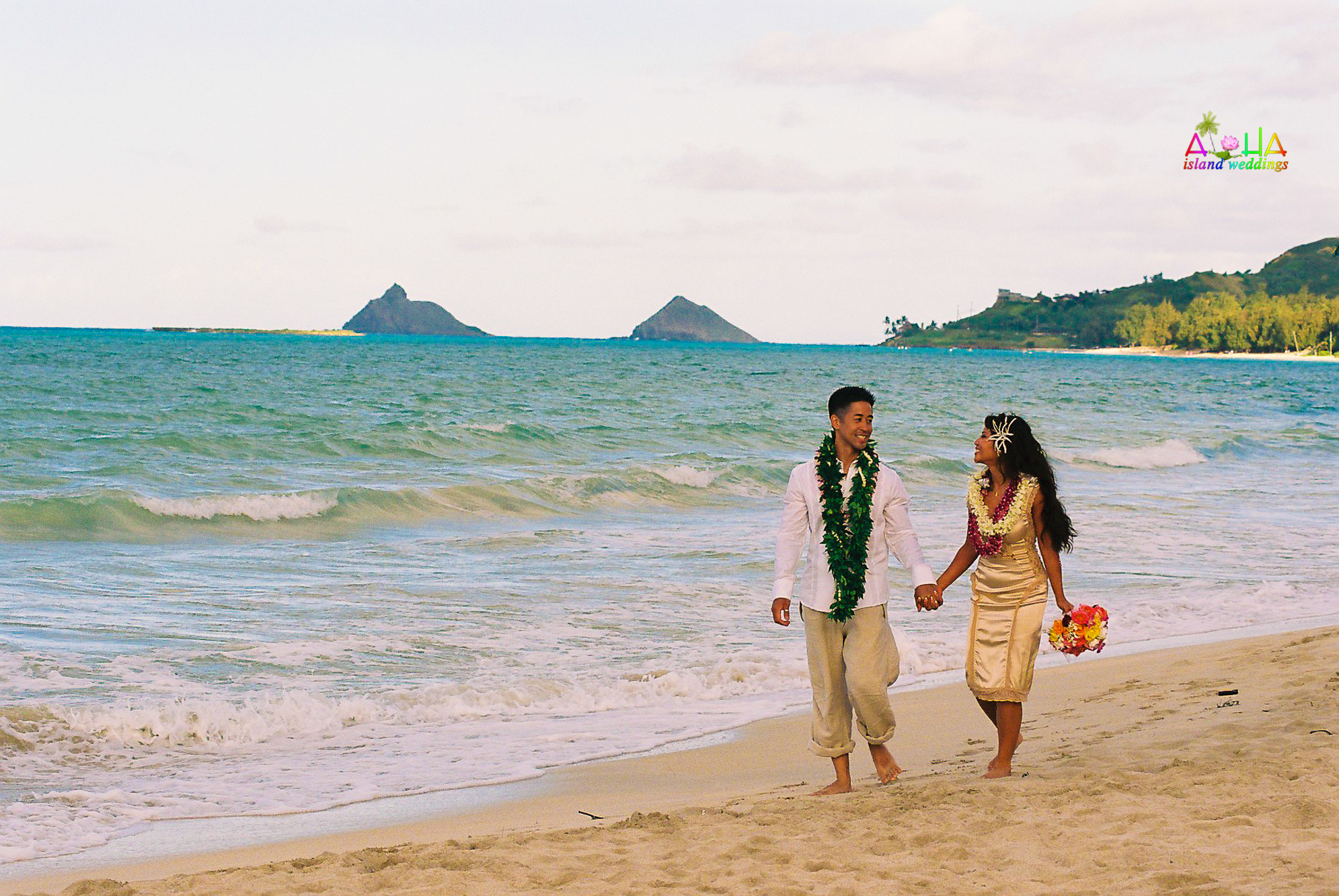 Beach wedding in Kailua-66
