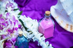 Wedding in Hawaii sand ceremony 1