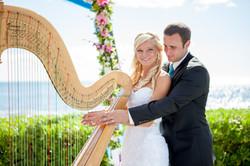 Harpist in Hawaii 3