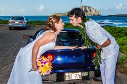 alohaislandweddings- Lotus car -13