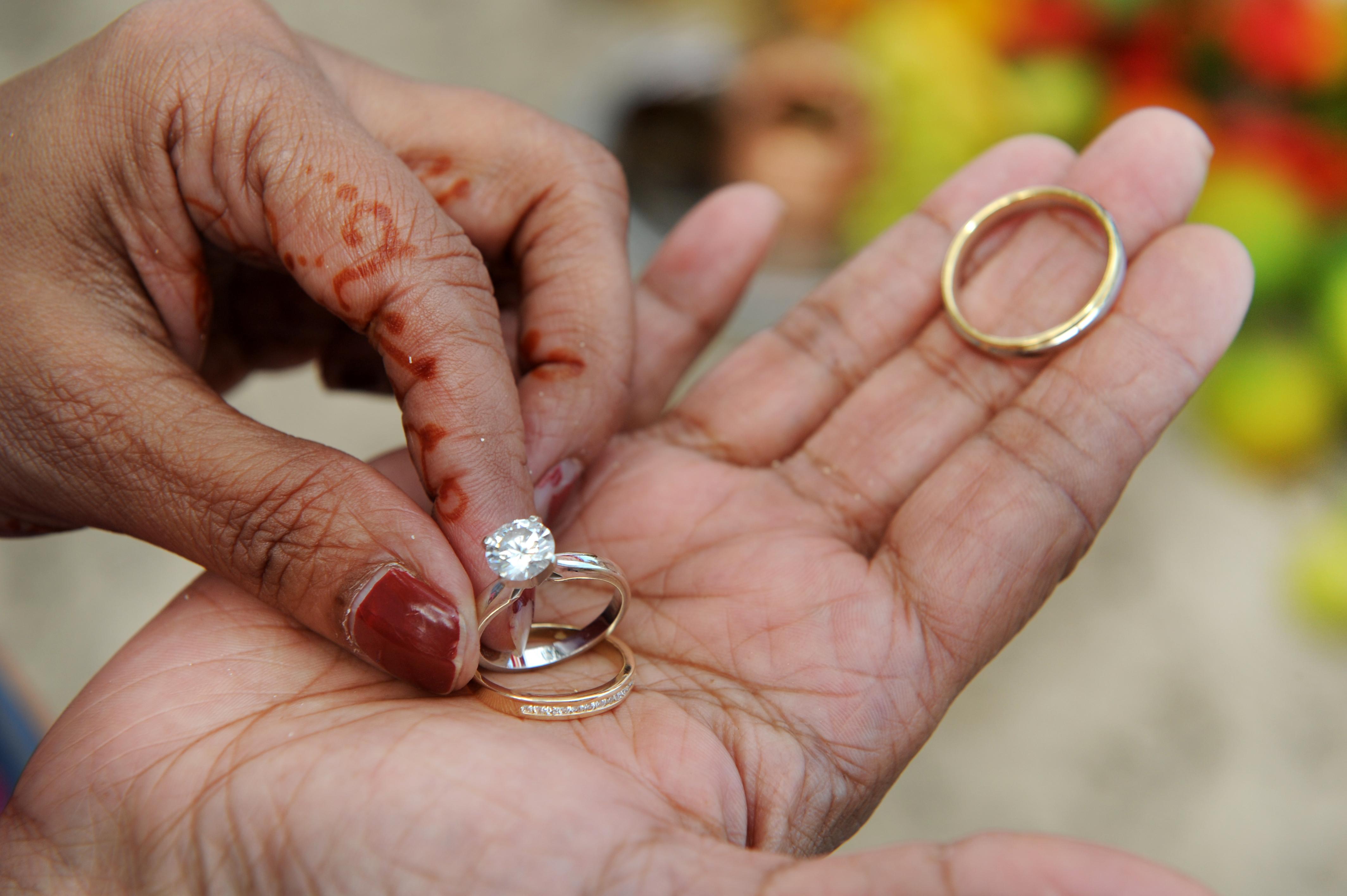 Hawaiian Indian Wedding Ceremony -34