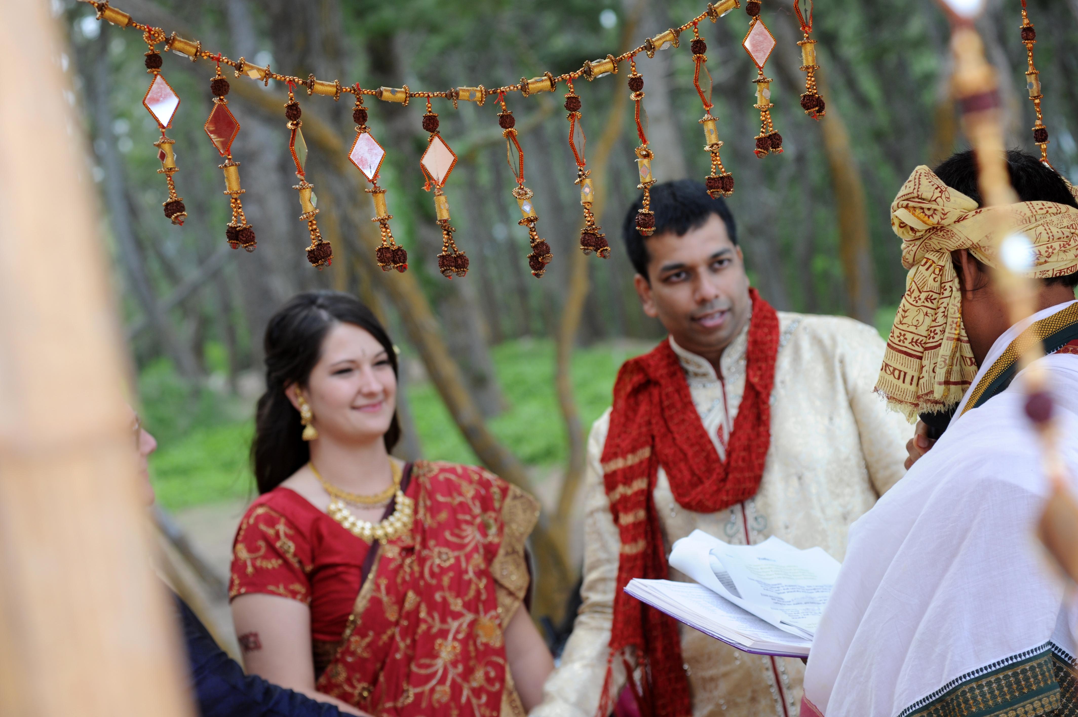 Hawaiian Indian Wedding Ceremony -32