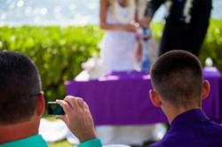 Wedding in Hawaii sand ceremony 6