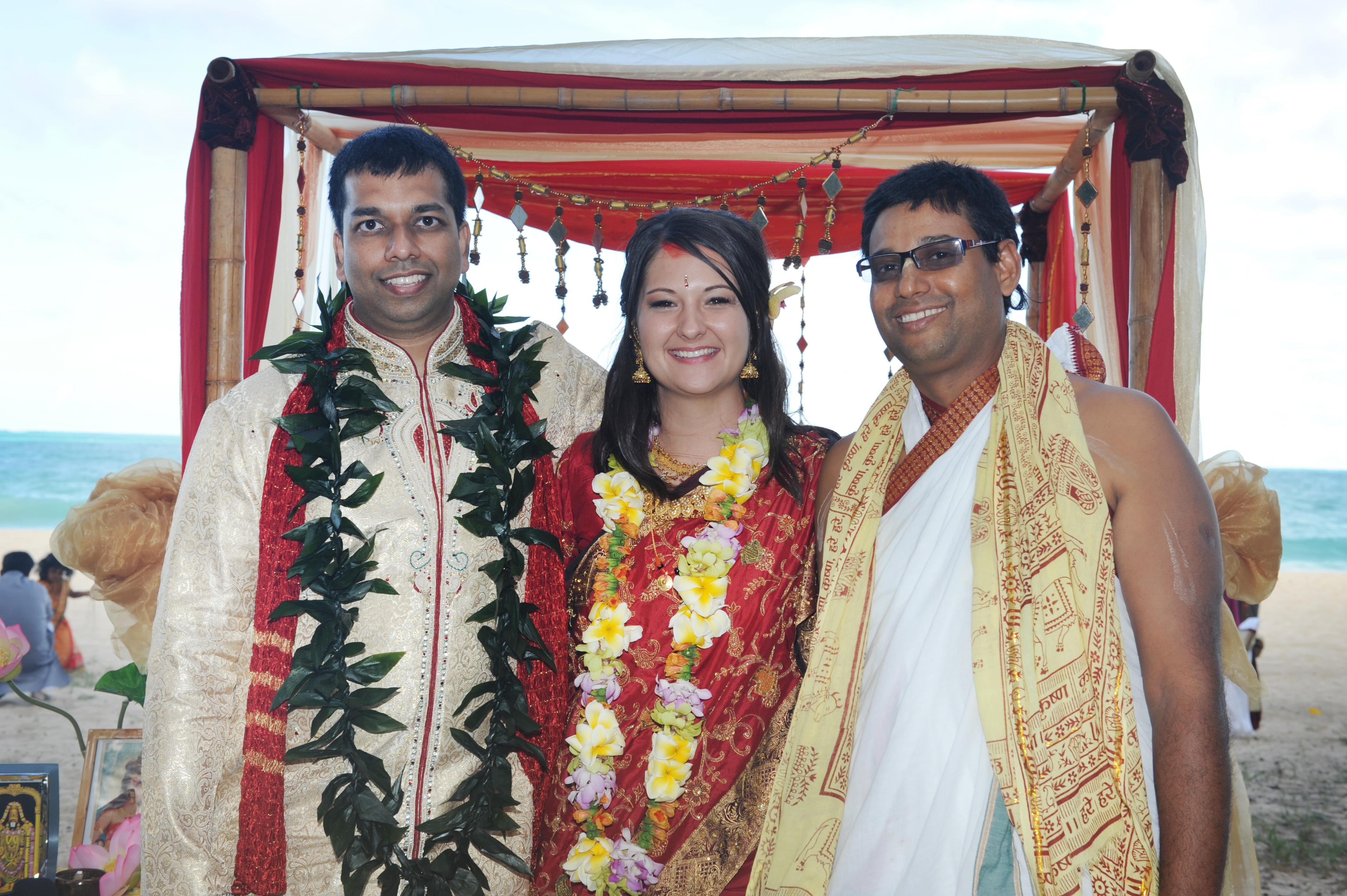 Hawaiian Indian Wedding Ceremony -40