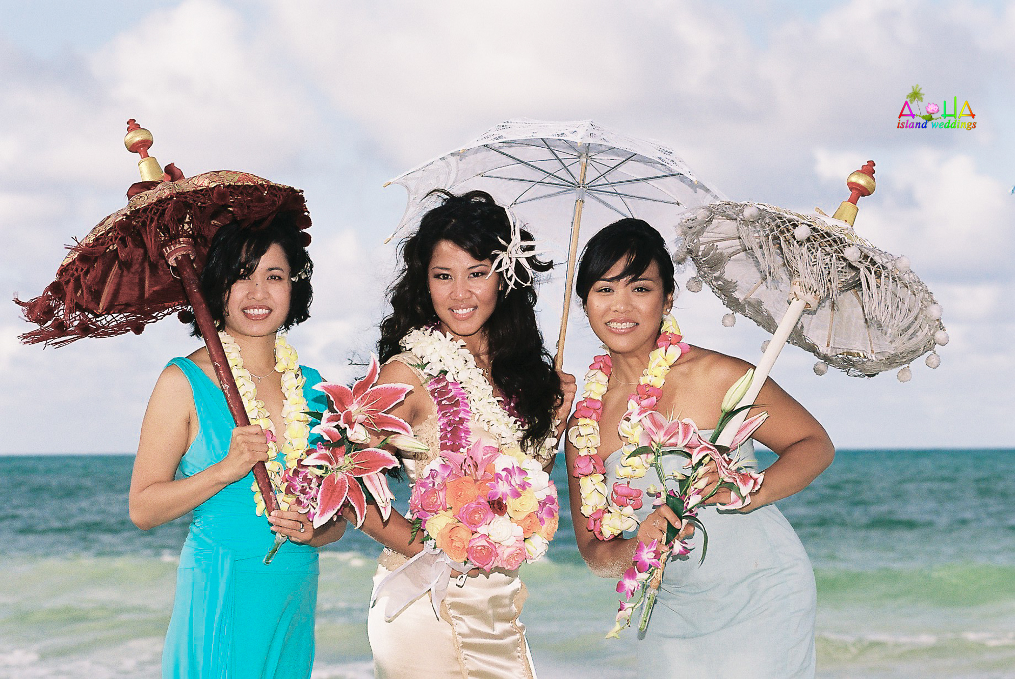 Beach wedding in Kailua-24
