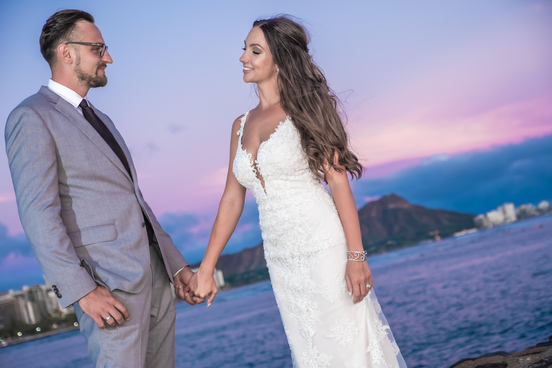 Magic island Hawaii beach wedding -7