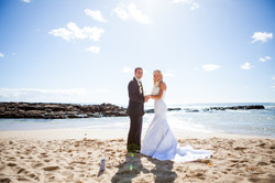 Hawaii wedding paradise cove 40