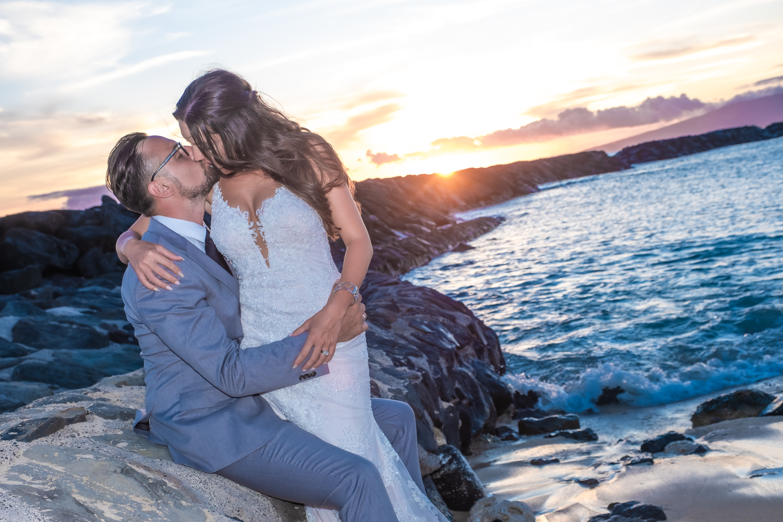 Magic island Hawaii beach wedding -40