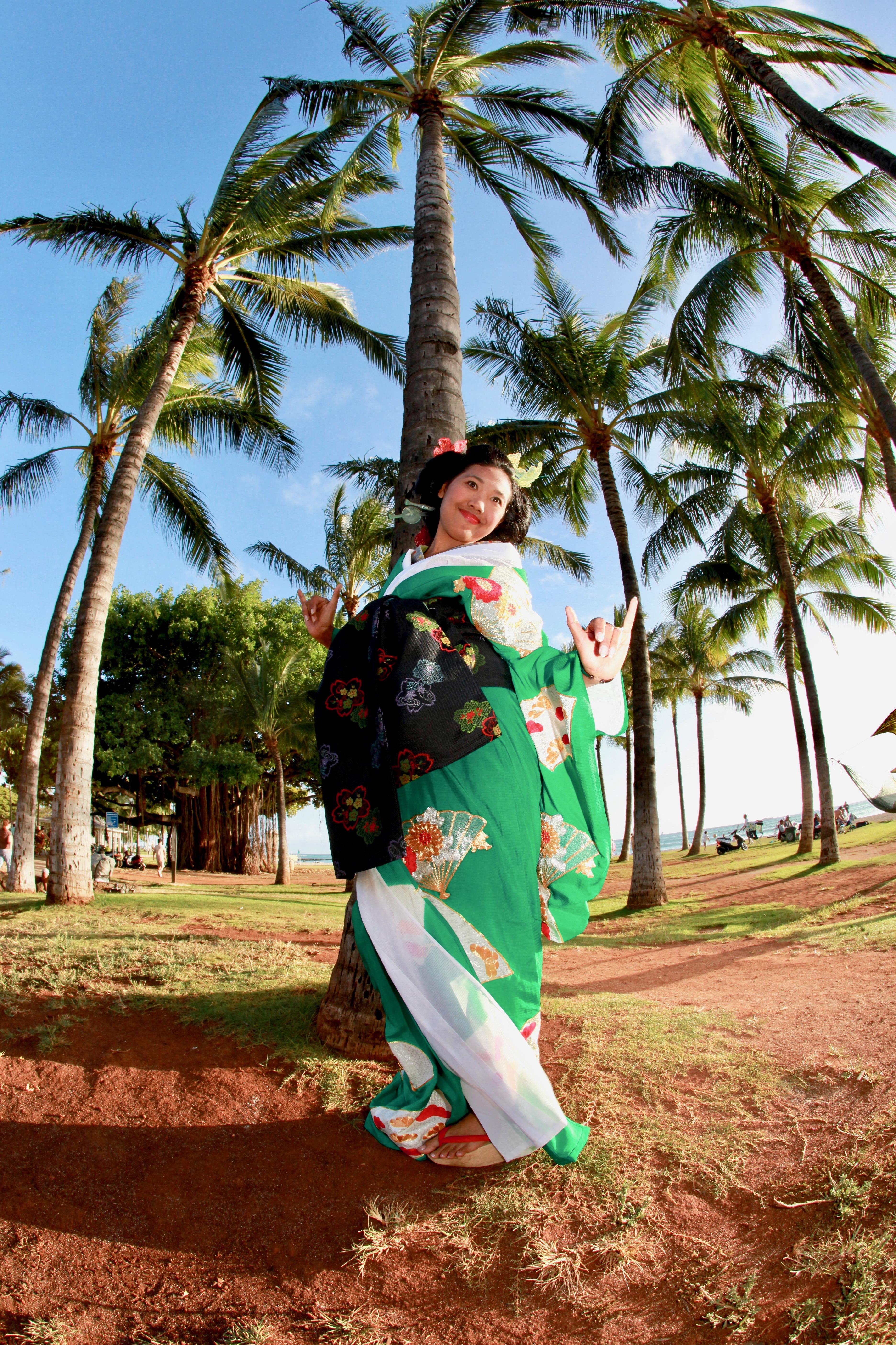 Honolulu Festival Kimono